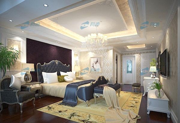 欧式卧室3d模型II